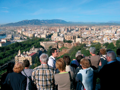 Excursion through the center of M�laga