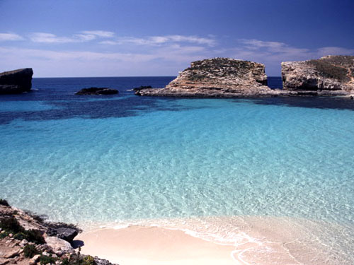 The blue lagoon, Malta