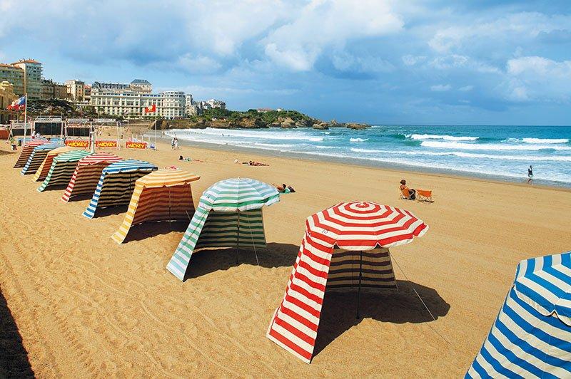 Sprachreisen nach Biarritz