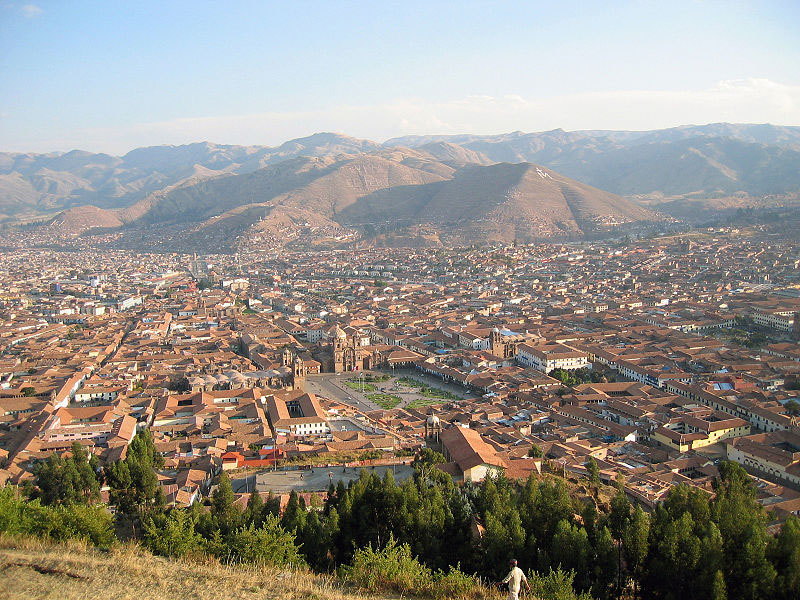 Cusco panoramic view