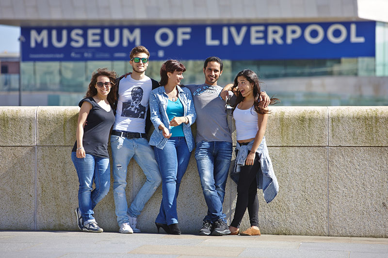 Students in Liverpool