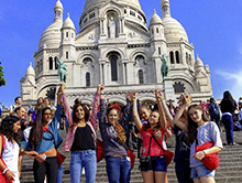 Learn French for juniors Paris