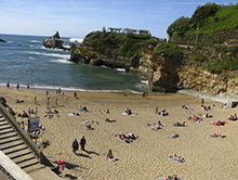 Learn French in Biarritz