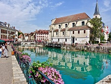 French in Annecy